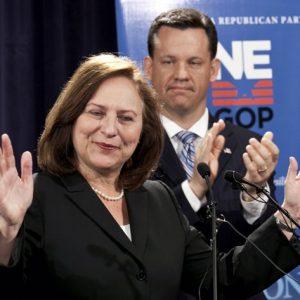 Nebraska Sen. Deb Discher: Hope of futility for GOP? (AP Photo/Nati Harnik)