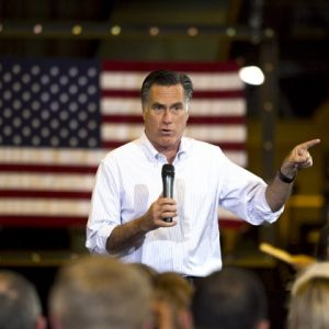 Mitt Romney, who did you beat up in high school? (AP Photo/Jae C. Hong, File)