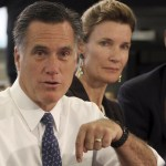 Mitt Romney speaks at a school in Philadelphia. When Romney decried Barack Obama as beholden to the nation's teachers' unions and unable to stand up for reform, he glossed over four years of a relationship that has been anything but cozy. (AP Photo/Mary Altaffer)