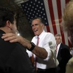 Mitt Romney in Las Vegas (AP Photo/Mary Altaffer)