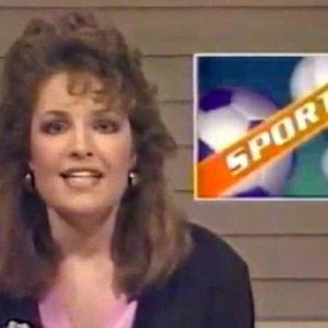 Sarah Palin as a sportscaster in 1987:  She liked to bang black athletes