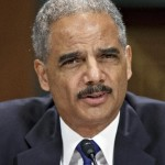 Attorney General Eric Holder lying before Congress (AP Photo/J. Scott Applewhite, File)