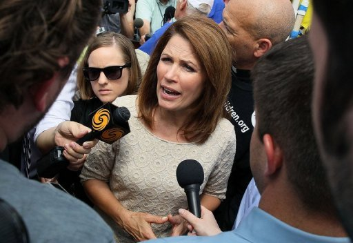 Rep. Michele Bachmann: Oh, just shut up  (AFP Photo/Mark Wilson)