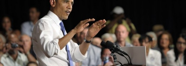Obama, Romney trade barbs on health care, jobs