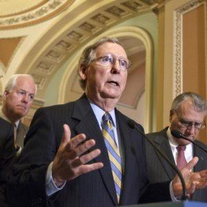 Senate Majority Leader Mitch McConnell (AP Photo/J. Scott Applewhite)