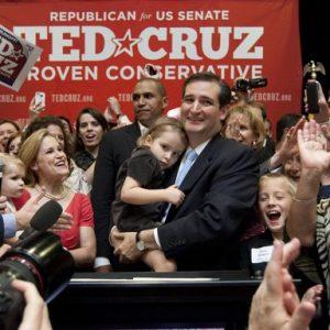 Texas GOP Senate nominee Ted Cruz  (AP Photo/Houston Chronicle, Johnny Hanson)