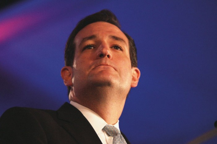 Be afraid. Cruz announces Presidential run Monday