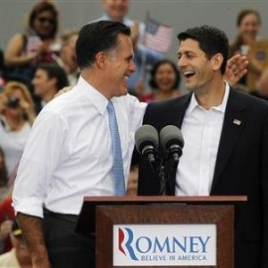 Mitt Romney and running mate Paul Ryan (REUTERS/Jason Reed)