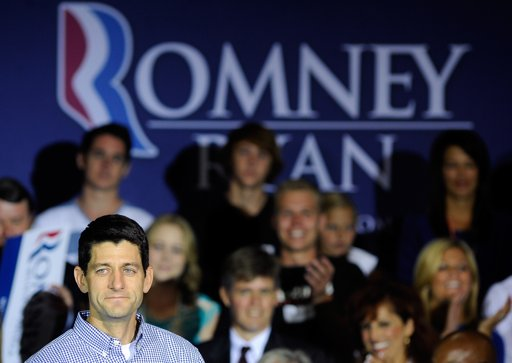 GOP veep candidate Paul Ryan: The slasher (AP Photo/David Becker)