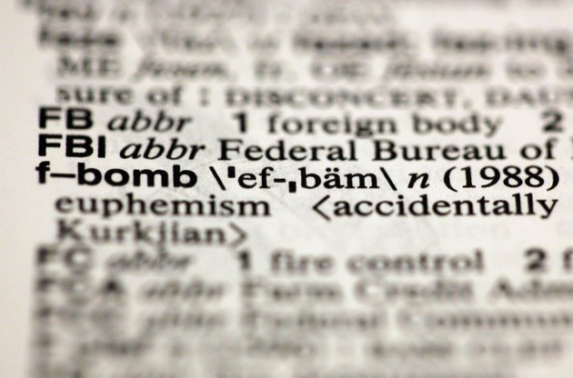 WTF?  'F-bomb' is now in Webster's dictionary