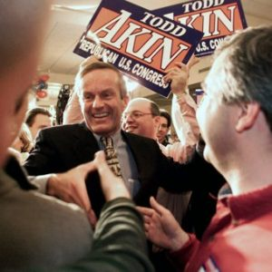 Rep. Todd Akin (AP Photo/St. Louis Post-Dispatch, Karen Elshout)