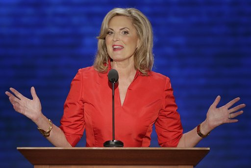 Ann Romney, wife of U.S. Republican presidential candidate Mitt Romney, addresses the Republican National Convention in Tampa, Fla., on Tuesday. (AP Photo/J. Scott Applewhite)
