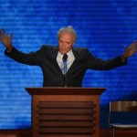 Clint Eastwood at the GOP convention: Did he lose the plot? (AFP PHOTO Stan HONDA)