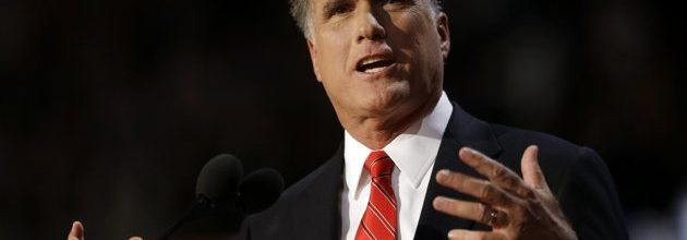 Romney's theme: 'Time to turn the page'