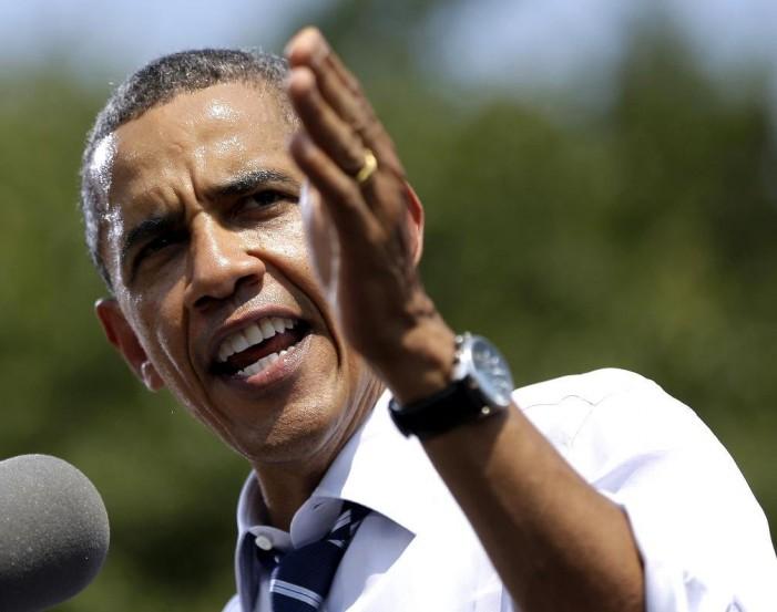 Obama takes battleground state tour on way to Democratic convention
