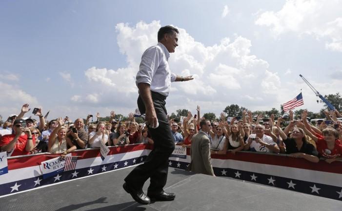 Romney concentrates on Virginia