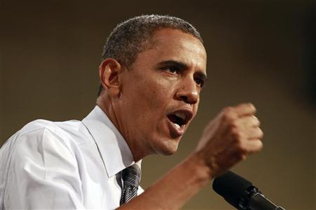Obama widens poll lead but Mideast crisis hovers as wild card
