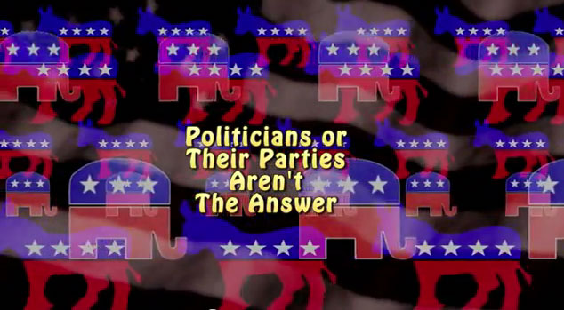 Politicians and their parties are not the answer