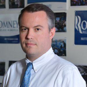 Romney campaign manager Matt Rhoades:  He got a 25 grand bonus for failing at his job (AP Photo)
