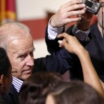 Vice President Joe Biden greets supporters during a campaign event at the Century Village Clubhouse in Boca Raton, Fla., Friday, Sept. 28, 2012. 