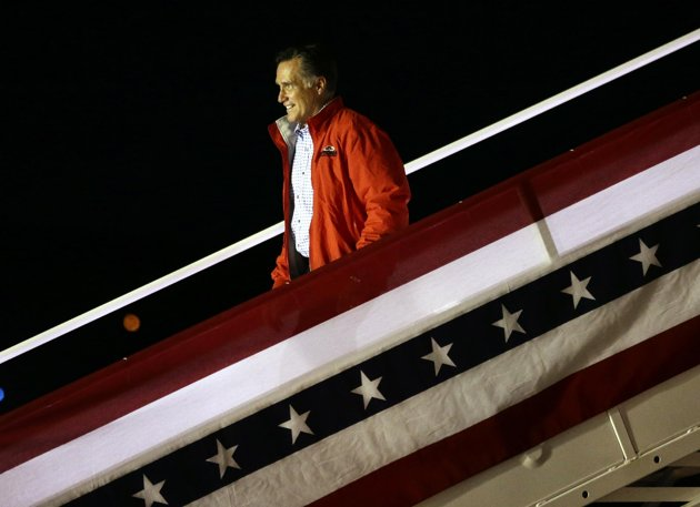 Romney urges more assertive foreign policy