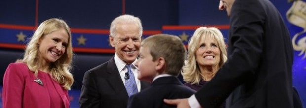 What viewers didn't see in Thursday night's veep debate