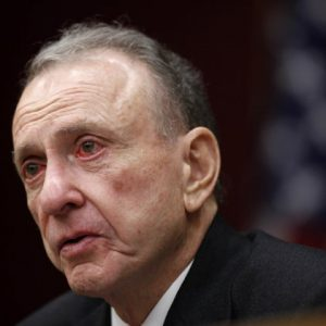 Former Sen. Arlen Specter (AP Photo/Matt Rourke, File)