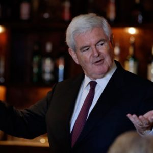 Failed Presidential candidate Newt Gingrich: Living large off other people's money. (AP Photo)