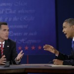 Mitt Romney and Barack Obama: Who has the 'Big Mo?' (AP Photo/Eric Gay)