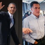 Barack Obama and Mitt Romney: Tied going into final two weeks (AP)