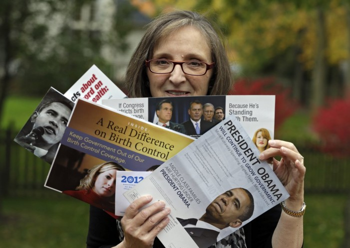 Campaign blitz swing states with tsunami of direct mail
