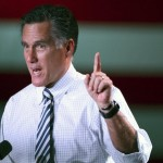 Republican presidential candidate, former Massachusetts Gov. Mitt Romney speaks as he campaigns in Reno, Nev., on Wednesday, Oct. 24, 2012. 
