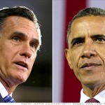 Mitt Romney and Barack Obama:  Locked in a tight race