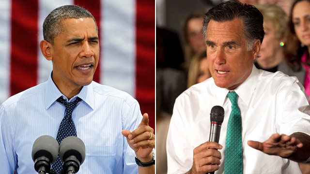It's neck and neck as Campaign 2012 begins final full week