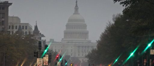Superstorm Sandy shuts down the federal government in Washington