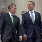 Speaker John Boehner and President Barack Obama 