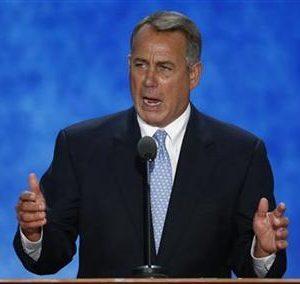 Speaker of the House John Boehner (REUTERS/Mike Segar)