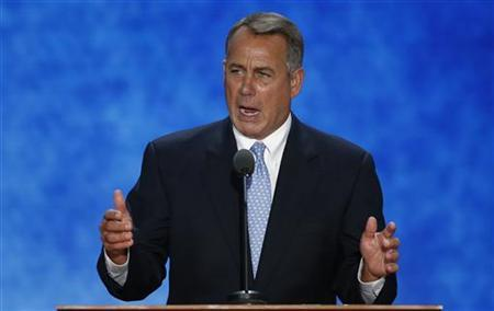 Speaker of the House Boehner