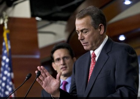 House GOP leaders John Boehner and Eric Kantor