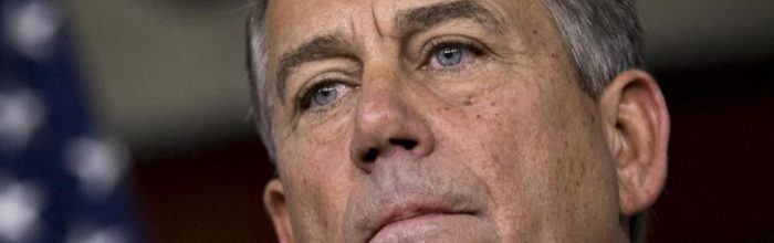 Failure on 'fiscal cliff' issue could sink John Boehner