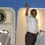 President Obama heads back to DC, but is it too little too late?   (AP Photo/Gerald Herbert)