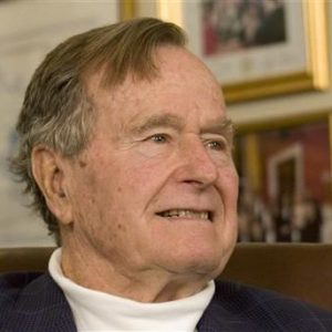 Former President George H.W. Bush (REUTERS/Donna Carson)
