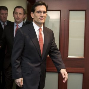 House Majority Leader and acknowledged Republican asshole Eric Cantor  (AP Photo/Jacquelyn Martin)