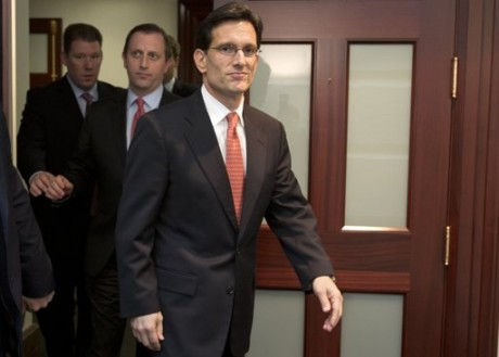 Eric Cantor: A Congressman in serious need of an ass-whipping (AP Photo/Jacquelyn Martin)
