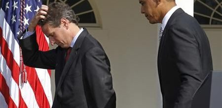 Geithner leaving Treasury post: Trouble for Obama?