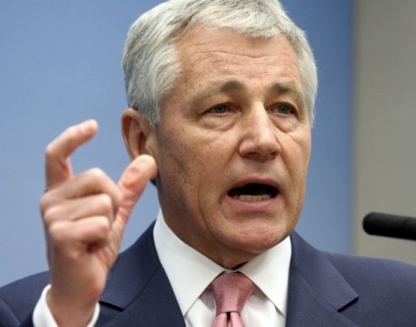 Sen. Chuck Hagel  (AP Photo/Lauren Victoria Burke, File)