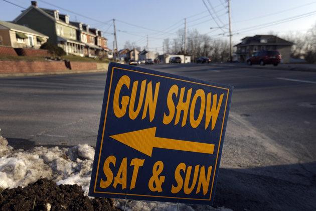 Four gun shows near Newtown, CT cancel after school shooting