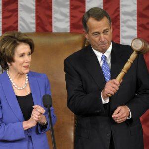 Nancy Pelosi and John Boehner: Ready to do battle  (AP Photo/Susan Walsh)