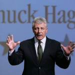 Sen. Chuck Hagel  (AP Photo/Nati Harnik)