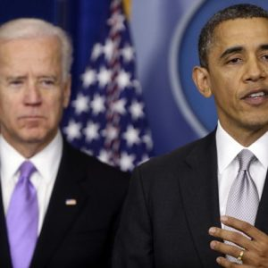Vice President Joe Biden and President Barack Obama  (AP Photo/Charles Dharapak)